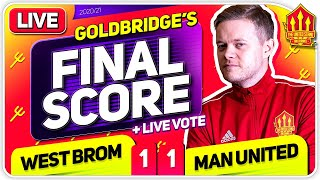 GOLDBRIDGE! West Brom 1-1 Manchester United Match Reaction