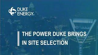 Duke Energy Site Selection Webinar