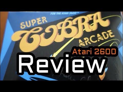 Super Cobra Arcade Review   Atari 2600