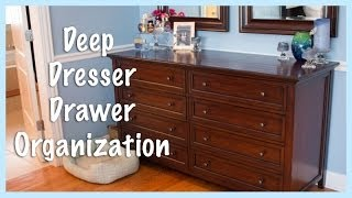 Deep Dresser Drawer Organization: Spring 2014 Overhaul