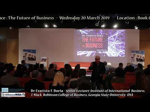 1st Athens MBA International Conference: The Future of Business