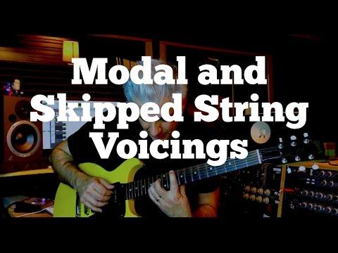 guitar lesson: modal chords for the guitar