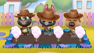 MY TALKING TOM FRIENDS 🐱 ANDROID GAMEPLAY #108 -TALKING TOM AND FRIENDS BY OUTFIT