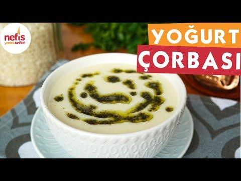 TAM KIVAMINDA Yoğurt Çorbası Nasıl Yapılır? - Nefis Yemek Tarifleri