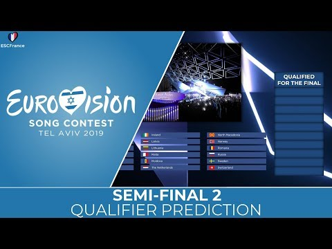 Eurovision 2019 | Semi-Final 2 | Qualifier PREDICTION