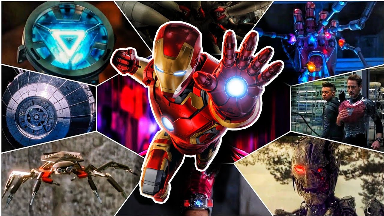 Top 11 Unique Inventions by Tony Stark in Hindi (SUPERBATTLE)