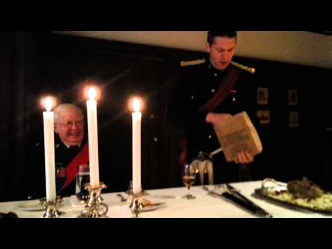 Address to a Haggis - The Canadian Scottish Regiment