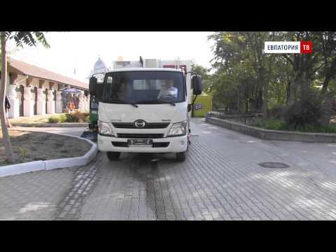 Новые мусороуборочные машины появились в Евпатории! - привью к видео Dls-PgSx79A