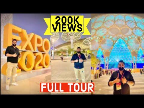 Pre-Opening at EXPO 2020 DUBAI 🔥 INDIAN, CHINA & USA PAVILION 🔥 Test Event of DUBAI EXPO 2021