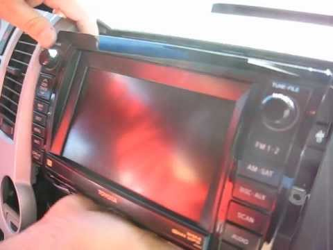 how to remove navigation cd changer from toyota tundra 2008 for rh youtube com 2014 Toyota Tundra Regular Cab 2014 Toyota Tundra Platinum