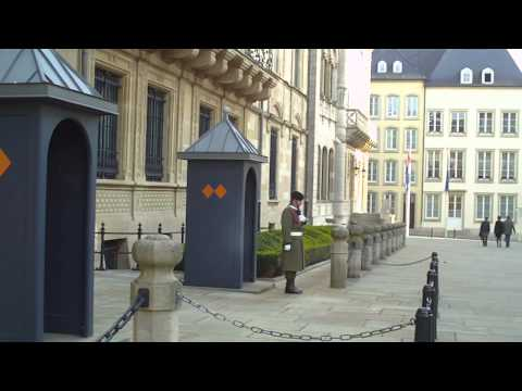 Royal Palace in Luxembourg.MP4