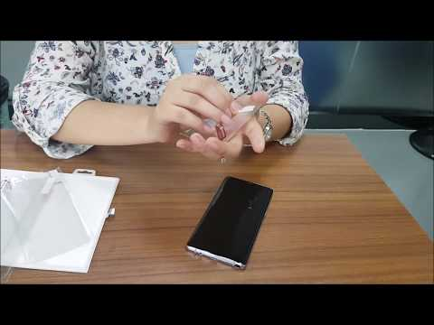 How to Apply SAMAR Samsung Galaxy Note 8 Standard Screen Protector