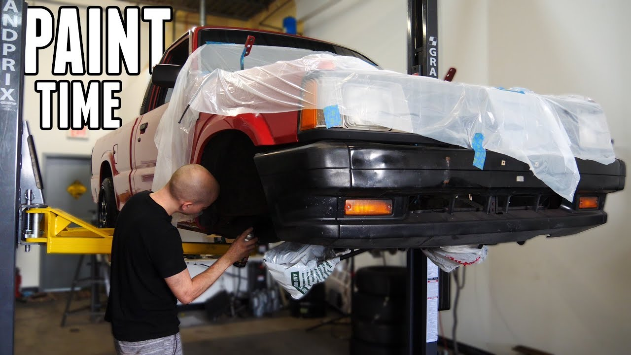 painting-everything-on-the-drift-truck-engine-bay-suspension-more