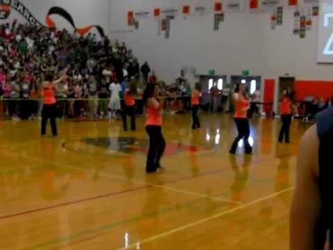 Monroe High School Dance Cats, pep assembly 5/20/2011