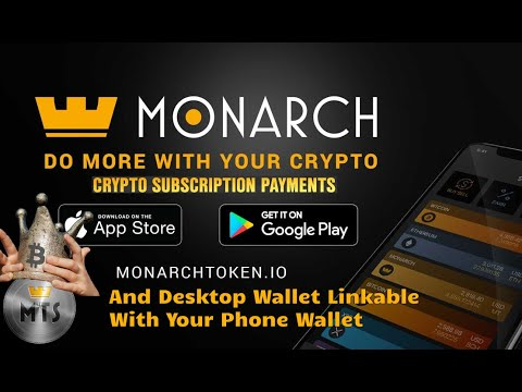 Monarch Wallet Features Desktop And Phone Version Link-able, Recurring Payments Feature