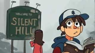 Silent Falls (Gravity Falls Theme Song - Silent Hill Version)