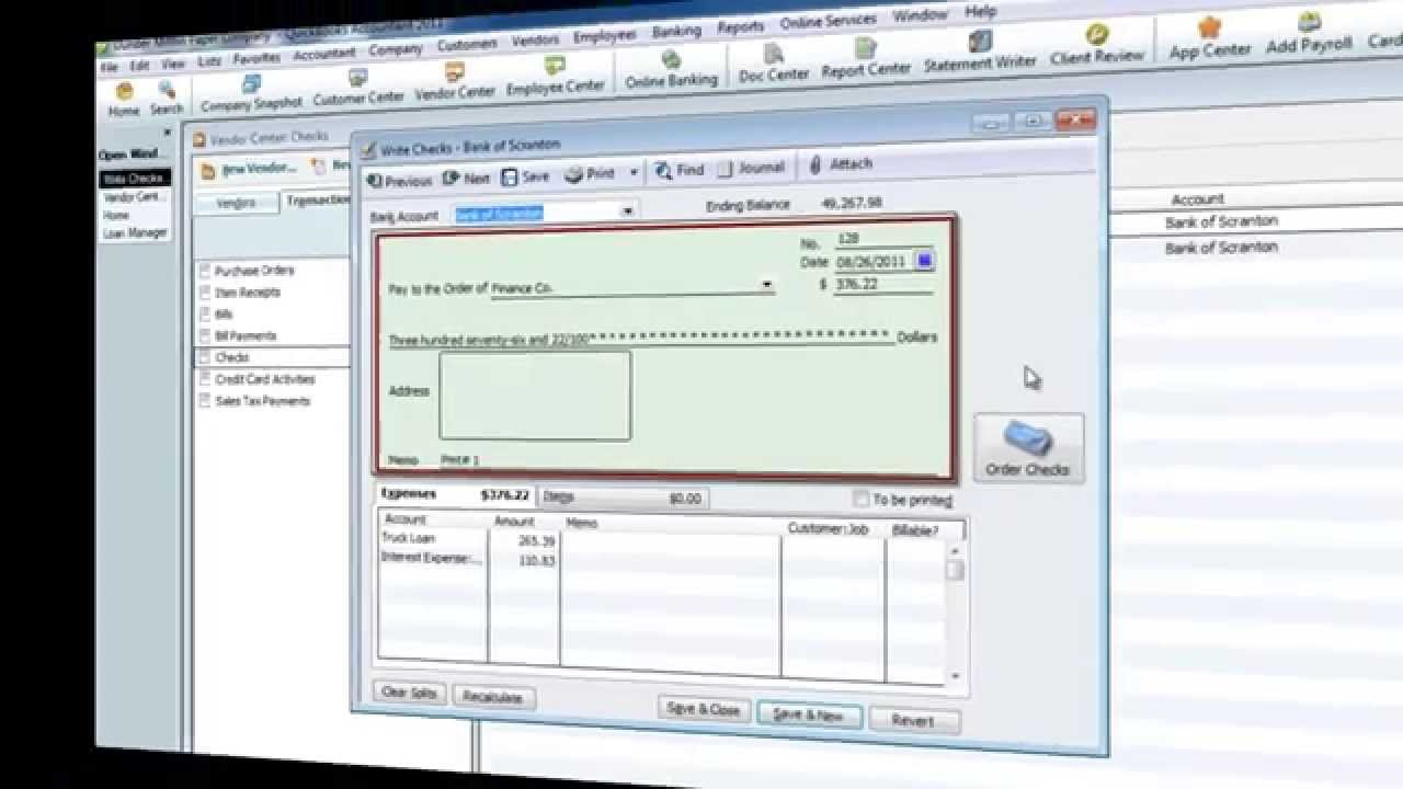Quickbooks Amortization and Loan Manager - YouTube