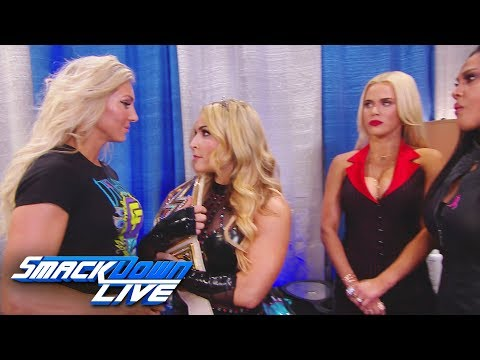 The SmackDown LIVE Women's division comes to blows: SmackDown LIVE, Oct. 10, 2017