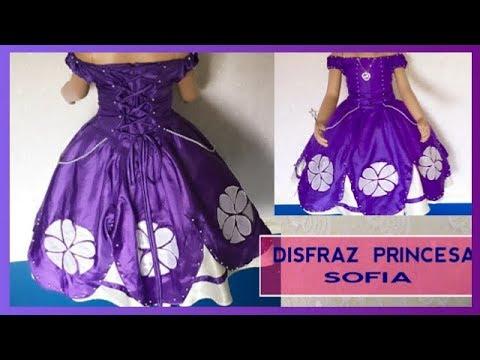 DIY PRINCESA SOFIA DISFRAZ