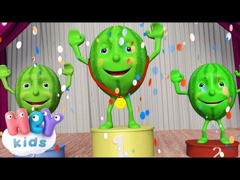 Un Cocomero Tondo Tondo 🍉 Canzoni Per Bambini