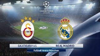 PES 2016 - Galatasaray vs Real Madrid | CHAMPIONS LEAGUE PS4