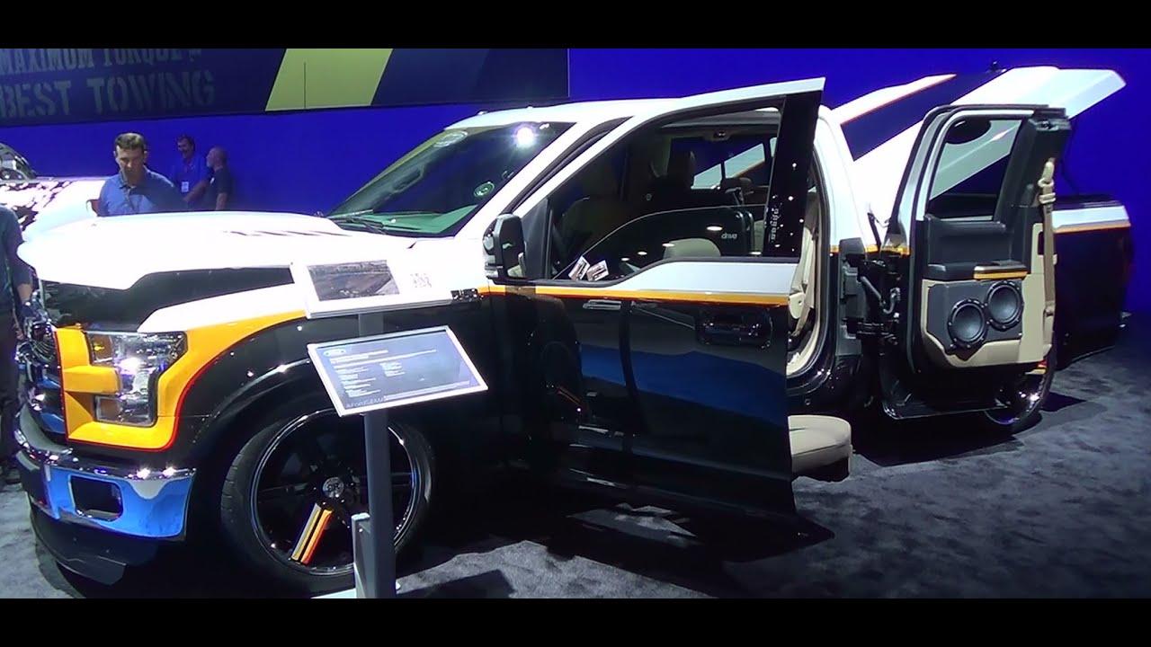 2015 Ford F 150 Ecoboost Custom Sema 2014 Youtube