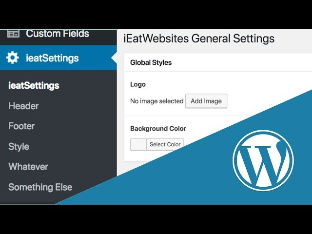 Create a WordPress Options Page with ACF