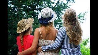 """♻  Как сплести летнюю шляпку в стиле """"буркина фасо"""" ♻"""