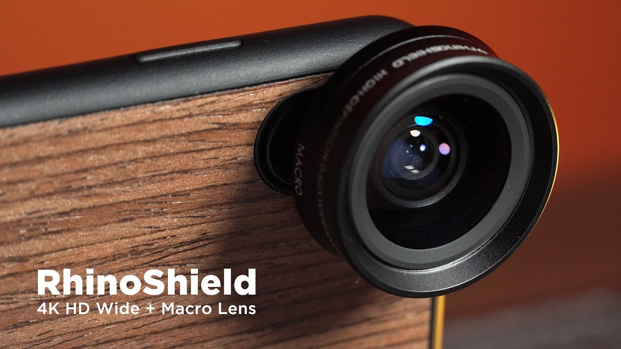 Affordable Wide Angle Smartphone Lens Rhinoshield Review Youtube