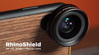 Affordable Wide Angle Smartphone Lens? | RhinoShield Review