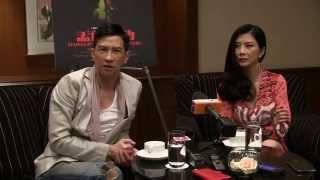 Nick Cheung and Carrie Ng talk about Hungry Ghost Ritual, June 28, 2014