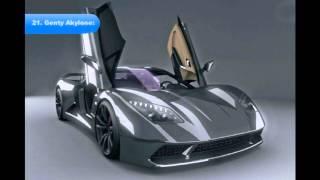 видео 50 Самых быстрых автомобилей в мире в 2016 году