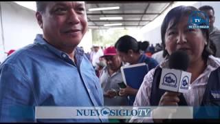 OAXACA NUEVO SIGLO TV VISITA LINO VELASQUEZ EN SANTA MARIA SUCHIXTLAN