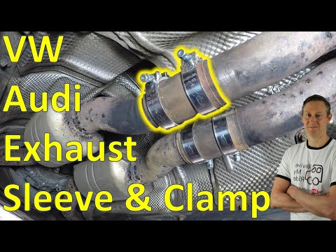 VW / Audi exhaust sleeve and clamp replacement guide – Easy DIY