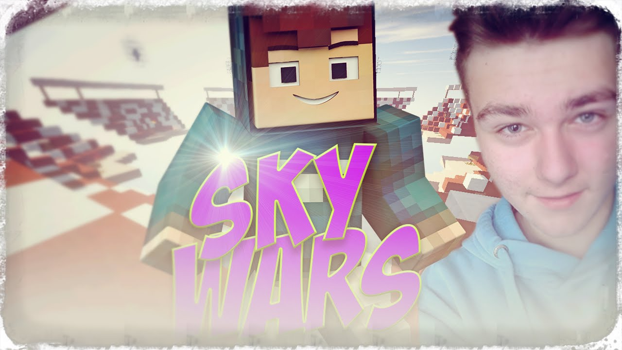 Minecraft Skywars 18 Texturepack Do Pvp Vouchery Youtube Voucher Premium Illustration By Suba