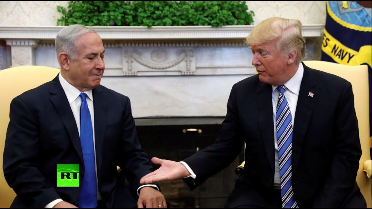 Нетаньяху поблагодарил Трампа за призыв признать Голанские высоты частью Израиля