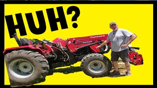 3 PT Hitch and other Parts of a TRACTOR~Mahindra & Compact Tractor Terms PT 2