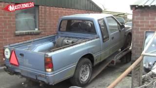 Opel Campo 4x4 pickup, garden found!