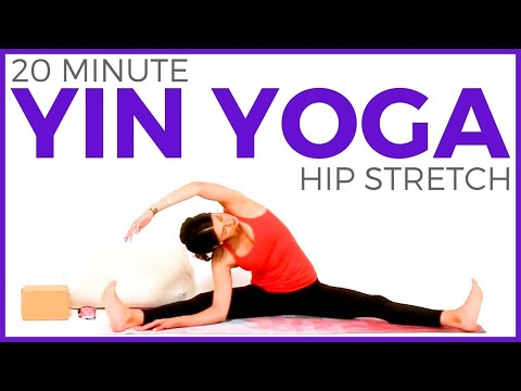 20 minute Yin Yoga for Hips | Deep Stretches for Flexibility