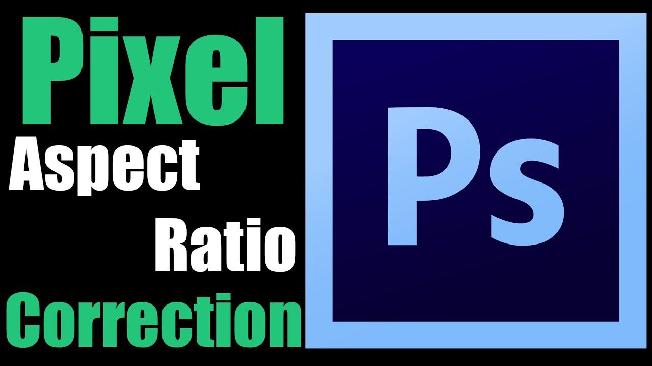 Turning Off Pixel Aspect Ratio Correction In Photoshop Youtube