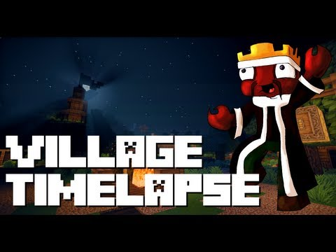 Minecraft: Everio Village Timelapse! (5000 Subscribers Celebration)