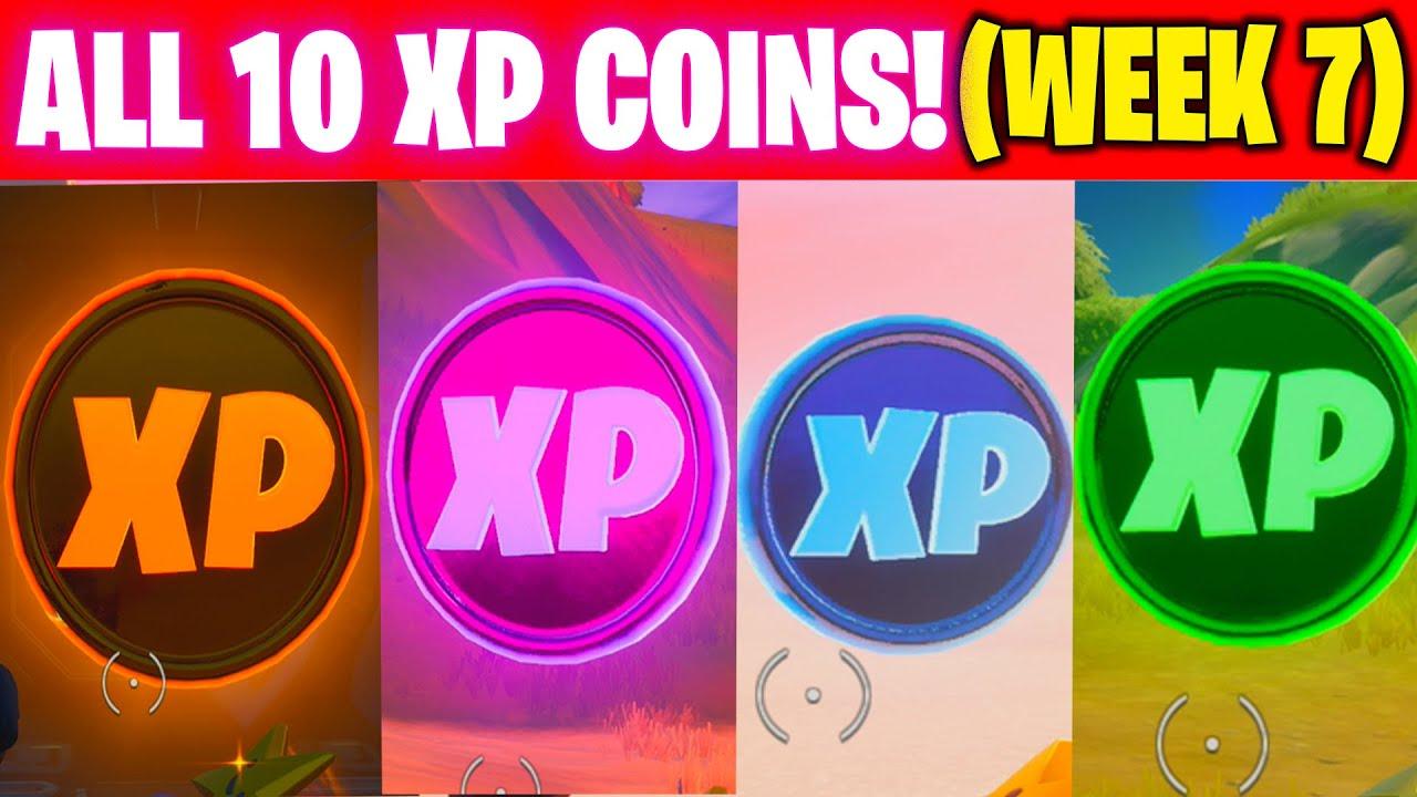 Download All XP COINS LOCATIONS IN FORTNITE SEASON 4 Chapter 2 (WEEK 7 Challenges)