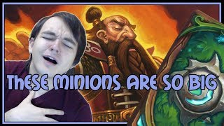 These minions are SO BIG | Combo priest | The Witchwood | Hearthstone