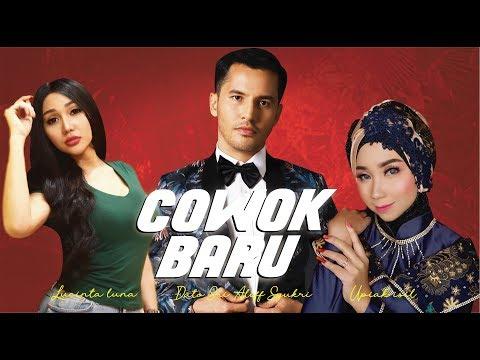 OFFICIAL Music Video COWOK BARU Aliff Syukri Feat Lucinta Luna & Upiak Isil - TV Terlajak Laris
