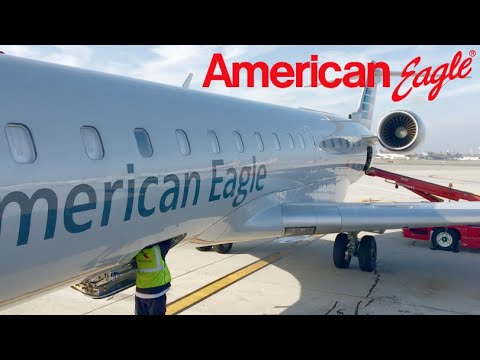 Trip Report- Los Angeles To San Diego On American Eagle CRJ 700