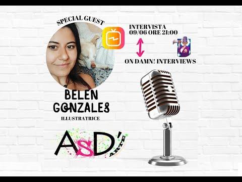 Altro Spazio D'arte e Damn Interviews - Belén González (matitafore)  - 09-06-2021