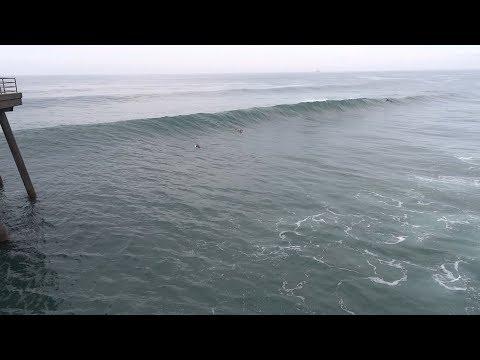 Huntington Beach, CA, Surf, 1/6/2019 - Part 11