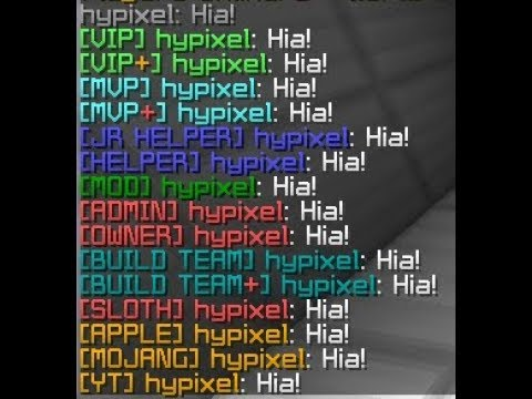 HOW TO BECOME STAFF ON HYPIXEL!