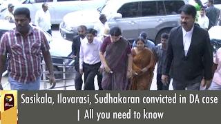 Sasikala, Ilavarasi, Sudhakaran convicted in DA case | All you need to know