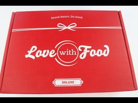 Love With Food Deluxe June 2015 Unboxing + Coupons #LovewithFood